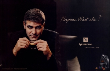 George Clooney and Nespresso. What else?